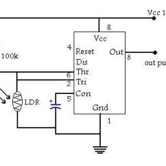 Digital Rpm Meter Wiring Diagram How To Write A Plot Make Your Own The Circuit Of Light Dependent Switch Is As Follow