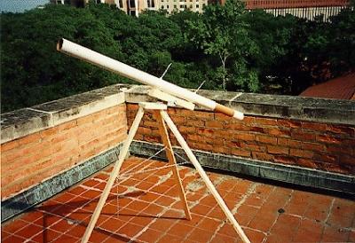Build A Simple Galilean Refracting Telescope
