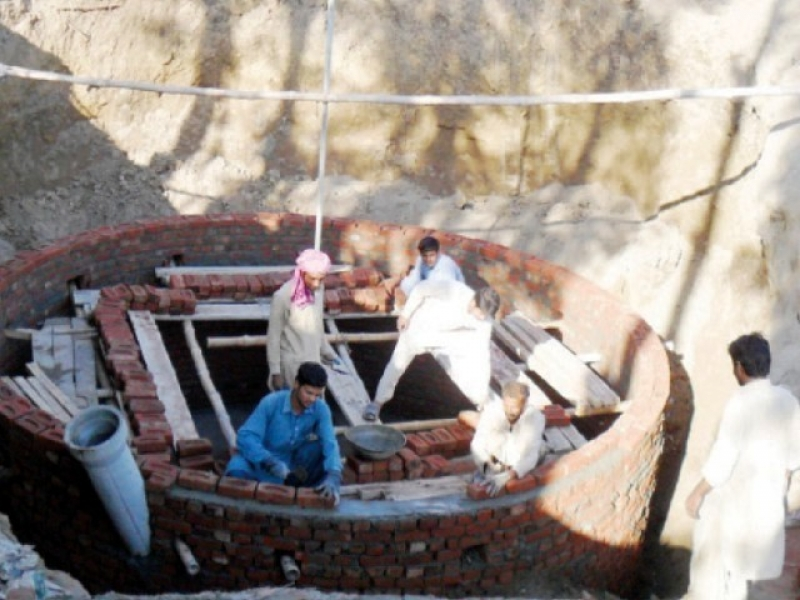 Story about biogas plant in flood hazard area of Pakistan By Sonia Malik