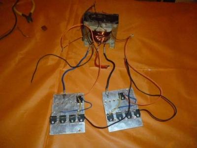 500 Watt Inverter schematic diagram