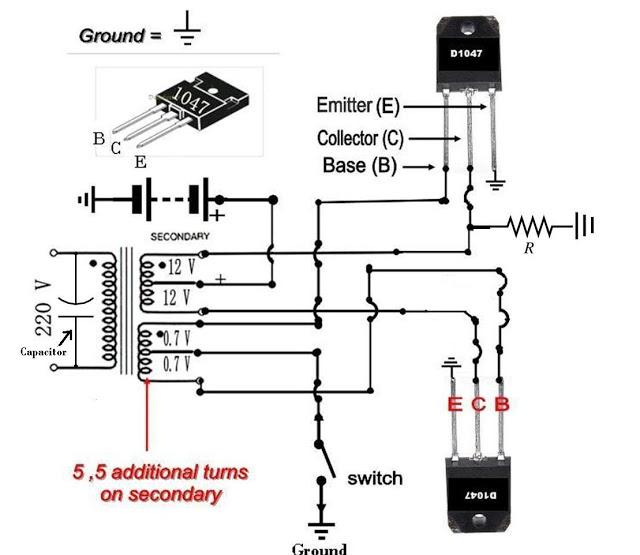 make your own 50 to 500 watt power inverter ups in urdu