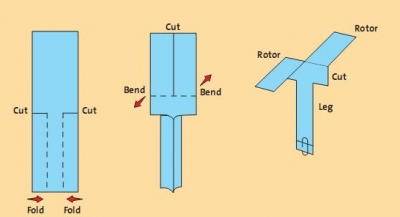 How to Build Paper Helicopters