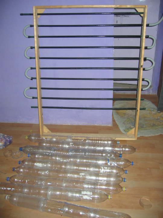 Recycled Plastic Bottle Solar Water Heater Diy Project