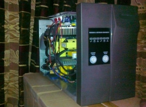 Failure of UPS (Uninterruptible power supply) and prevent from failure