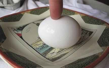 Inertia of an Egg