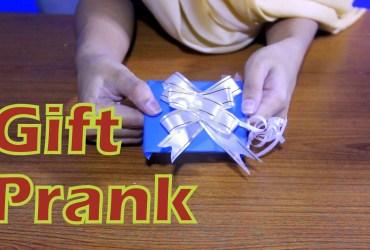 DIY Gift Prank Project