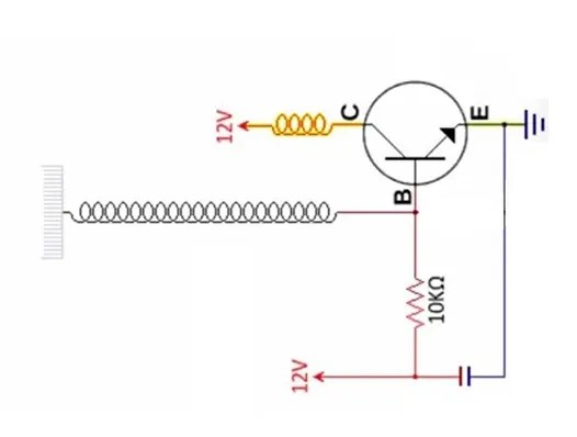 Tesla coil circuit diagram