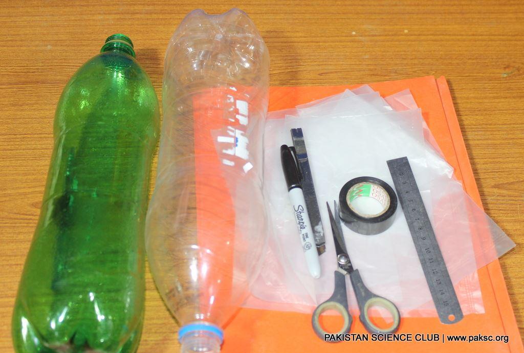 water rocket material