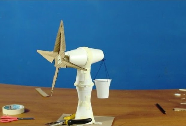 Windmill science fair project