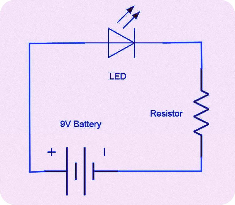 resistor circuit diagram kicker l7 12 wiring basic of for beginners electronics video course urdu the projects