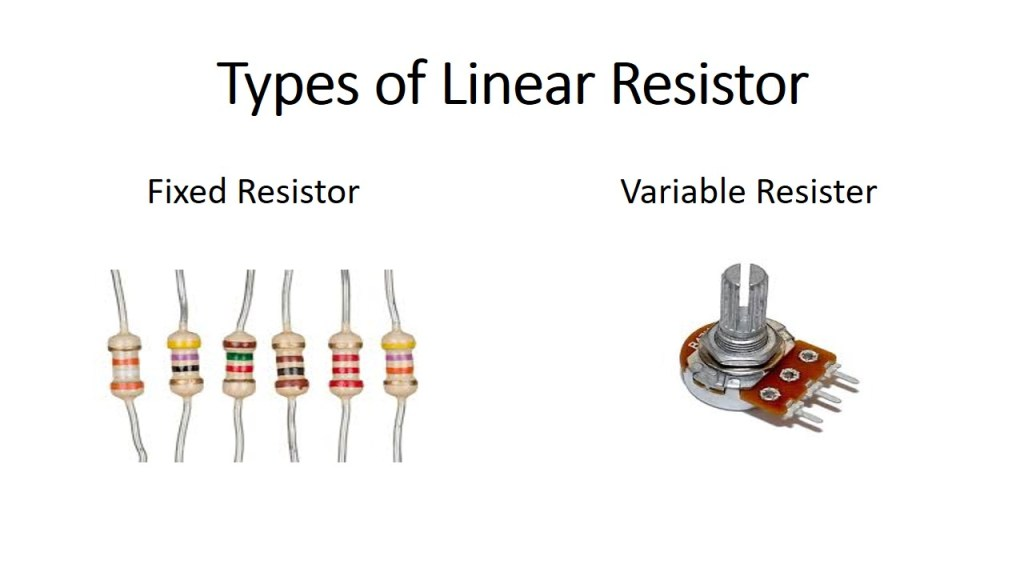 type of linear resistor