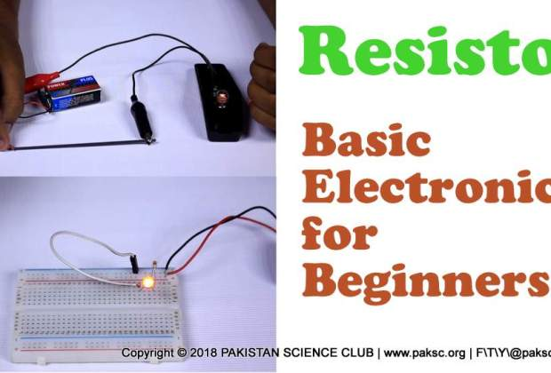 basic electronics Project resistor