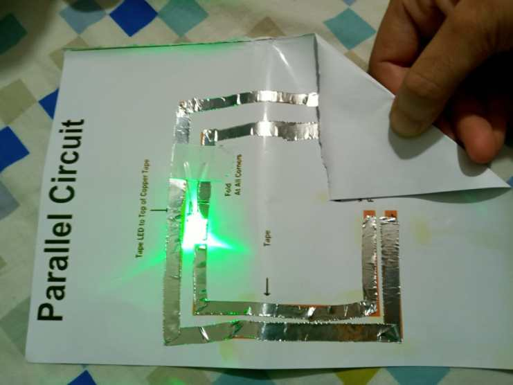 Simple Paper parallel Circuit