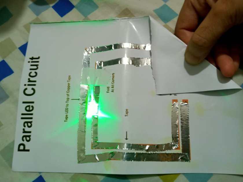 Simple Paper parallel Circuit