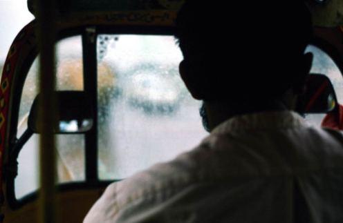 Karachi: en route vers l'hotel Amin House