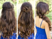 simple quick hairstyles girls