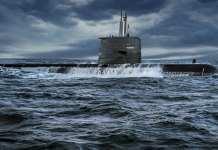 A-26 Blekinge-Class Swedish Submarine