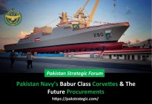 Pakistan Navy's Babur Class Corvettes