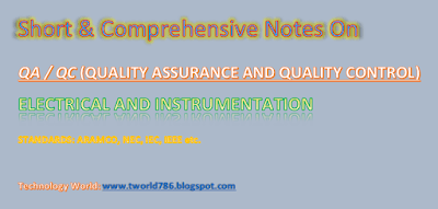 Aramco Standard Electrical and Instrument Question Answers Part_1