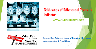 Calibration of Differential Pressure Indicator