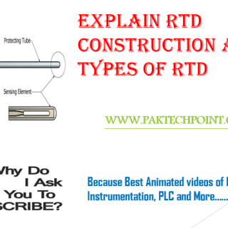 RTD CONSTRUCTION AND TYPES OF RTD