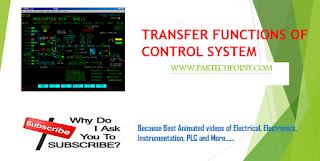 TRANSFER FUNCTIONS OF CONTROL SYSTEM