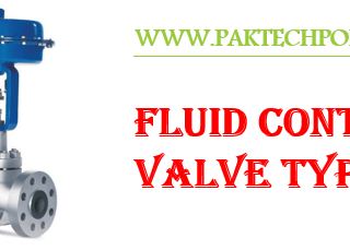 Fluid Control Valves Types