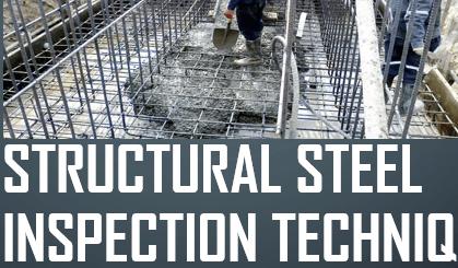 structural steel inspection procedure