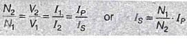 RATION OF CURRENT TRANSFORMER