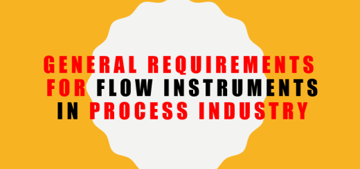 General Requirementsfor Flow Instruments in Process Industry. Flow Instruments. Differential Pressure Transmitters. Orifice Plates. Turbine meters