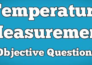 Temperature Measurement Instrumentation Questions Answers