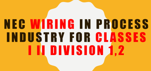 Class I, Division 1, Hazardous Locations, Class I, Division 2, Sealing (NFPA 70, Article 502), Fittings and boxes, NEC Wiring in Process Industry