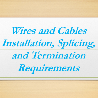 Installing Cable in Conduit, Conduit Size Calculations, Installing Cable in Cable Tray, Splicing And Terminating Cable, Splice and Termination Kits