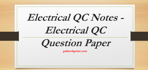 Electrical QC NotMOTORS AND GENERATOR QC QUESTIONS, SUBSTATION QC QUESTIONS, CABLES QUESTIONS