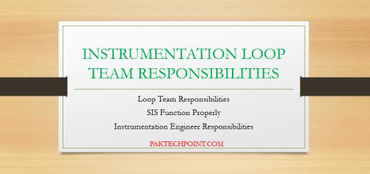SIS function properly, Instrumentation Engineer Responsibilities