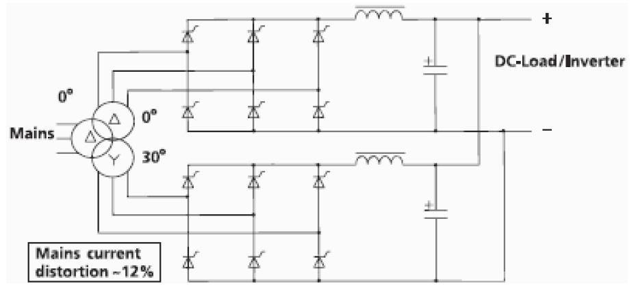 Basic Circuit of rectifier / charger.