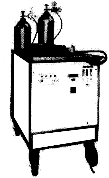 Figure 4 - Typical Portable Assembly of Plasma Arc Equipment