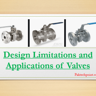 Design Limitations and Applications of Valves - ASME B16.34