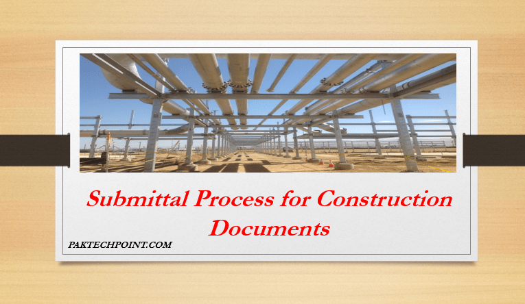 Submittal Process for Construction Documents