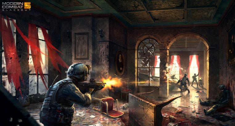 Hasil gambar untuk Modern Combat 5: Blackout