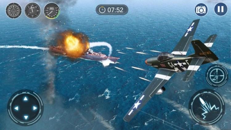 Hasil gambar untuk Skyward War: Mobile Thunder Aircraft Battle Games