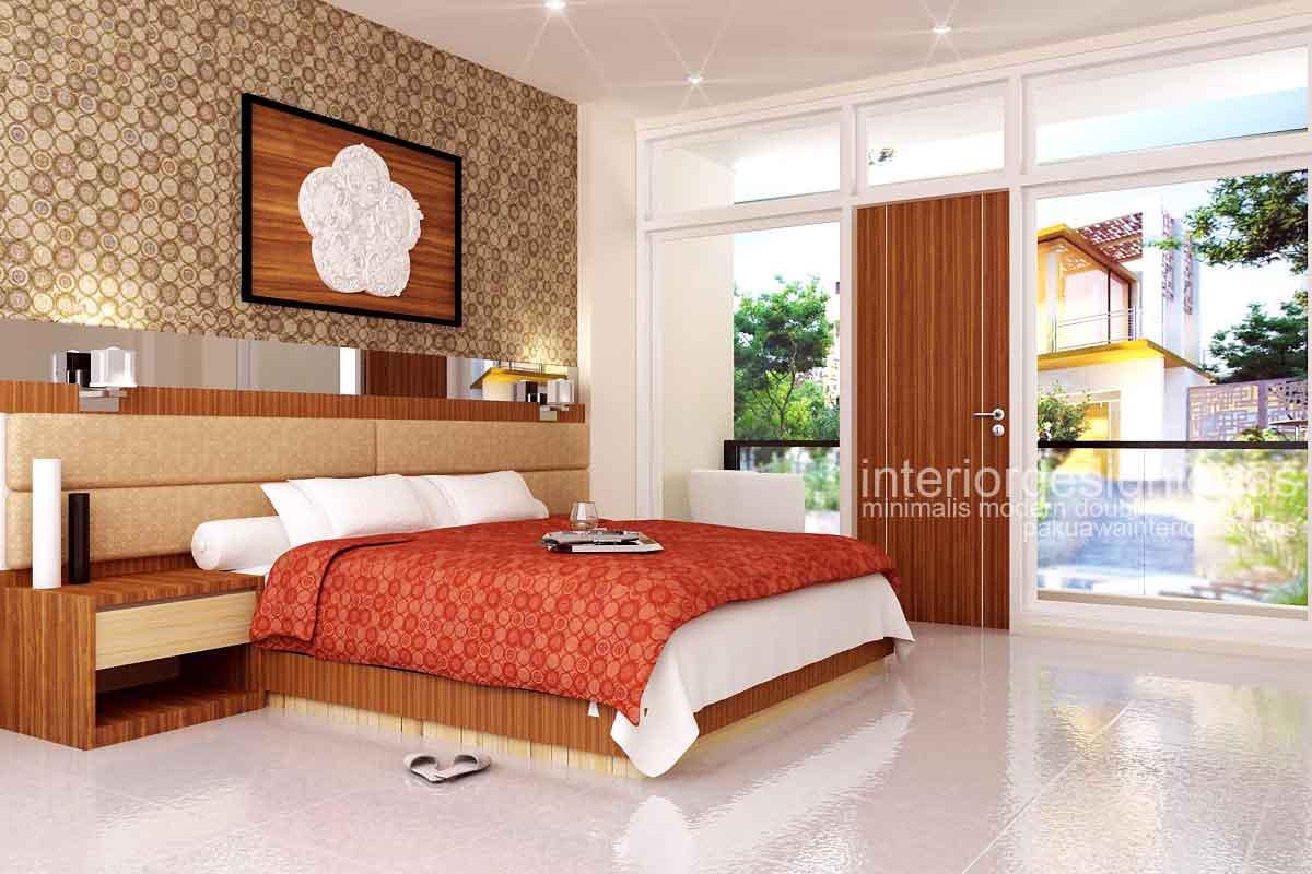 desain interior minimalis interior kamar tidur hotel