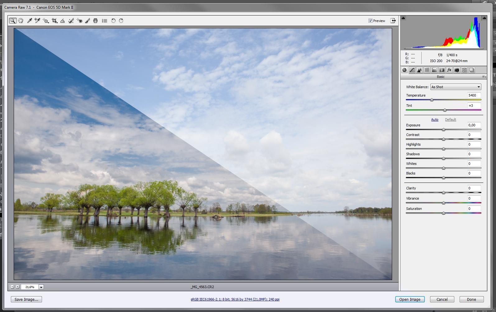 Fotoedycja – warsztaty z programów Lightroom i CameraRaw.