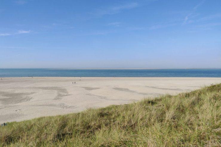 Texel on tunnettu hiekkarannoistaan