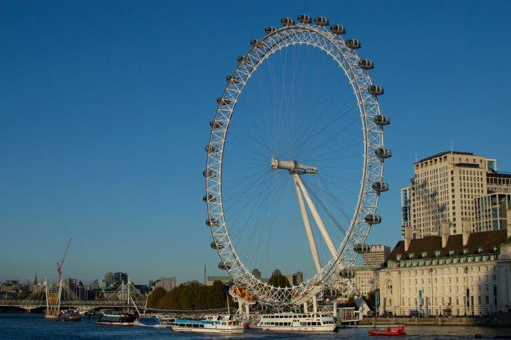 London Eye maailmanpyörä Lontoossa