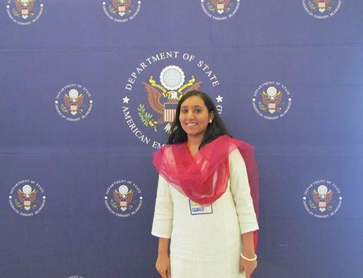 Indian Journalist Aarefa Johari at PUAN's International Women Empowerment Conference