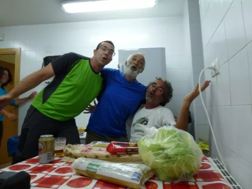 Irene, Paco, Duilio y Chuchi