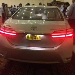 New Corolla Altis Grande Toyota Yaris Trd Supercharger Kit Prices For The Facelift Revealed Following Are Some Of Snaps Which Were Allegedly Taken At An Event In Lahore And Islamabad