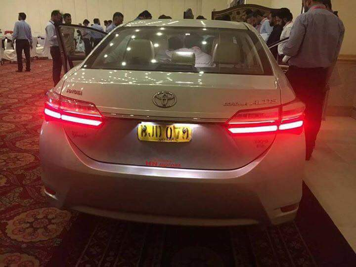 new corolla altis grande toyota yaris trd vs honda jazz rs prices for the facelift revealed following are some of snaps which were allegedly taken at an event in lahore and islamabad