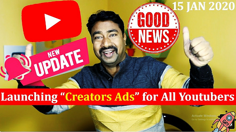 "Youtube BEST Upcoming New Feature ""Creator Ads Sale"" 1"